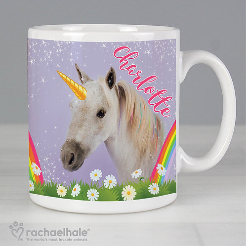Personalised Rachael Hale Unicorn Mug (PMC)