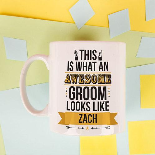 Awesome Groom Mug