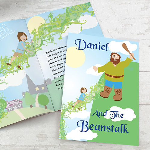 Personalised Jack and the Beanstalk Story Book (PMC)