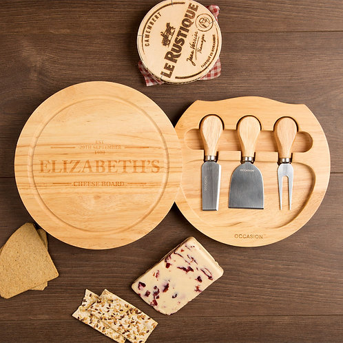 Established Round Cheeseboard