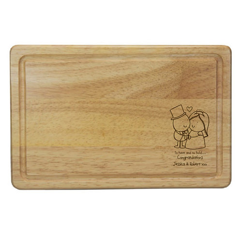 Chilli & Bubbles Have/Hol Rectangle CheeseBoard