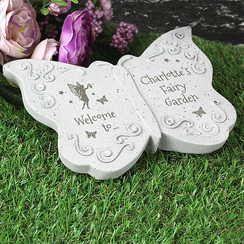 Personalised Fairy Garden Butterfly Ornament (PMC)
