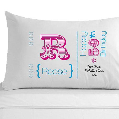 50th Birthday Pillowcase