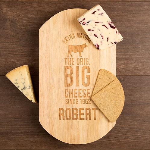 Big Cheese Cow Design Cheeseboard