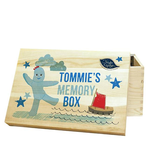 In The Night Garden Igglepiggle Wooden Storage Box