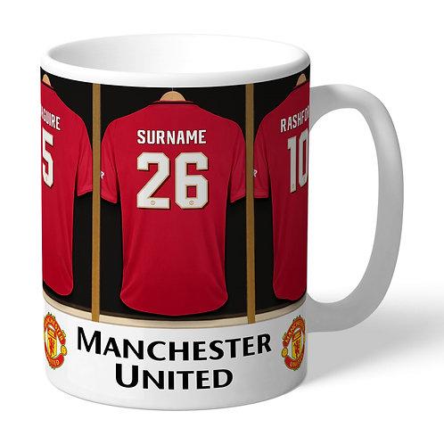 Manchester United Football Club Dressing Room Mug (PMC)