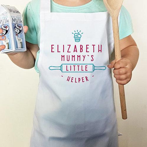 Mummy?s Little Helper Cupcake Child?s Apron