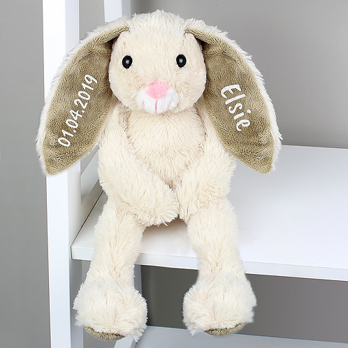 Personalised Bunny Rabbit Soft Toy (PMC)