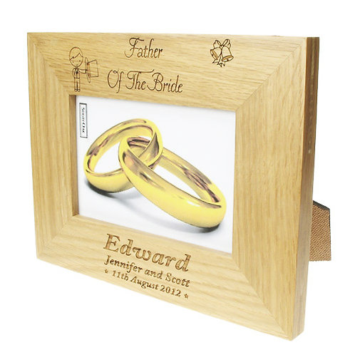 Father of the Bride Photo Frame