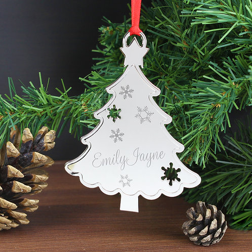 Personalised Any Name Christmas Tree Decoration (PMC)