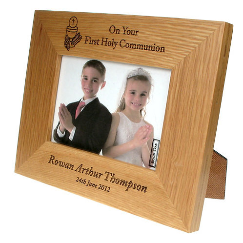 First Communion Frame: Eucharist Design