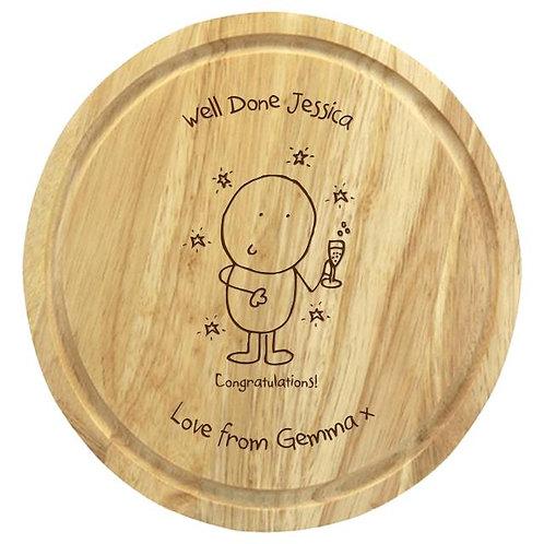 Chilli & Bubbles Congratulations Chopping Board