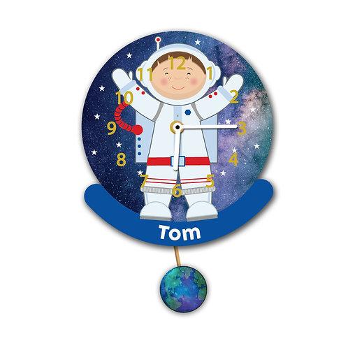 Astronaut Pendulum Wall Clock (PTG)
