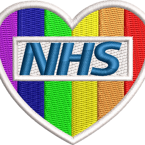 Keyworker Male Polo (RAINBOW HEART NHS)