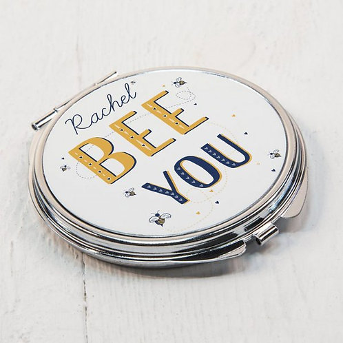 Bee You Compact Mirror