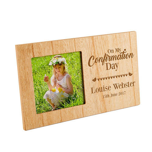 On My Confirmation Photo Frame