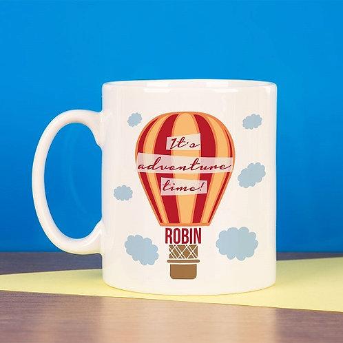 Adventure Hot Air Balloon Mug