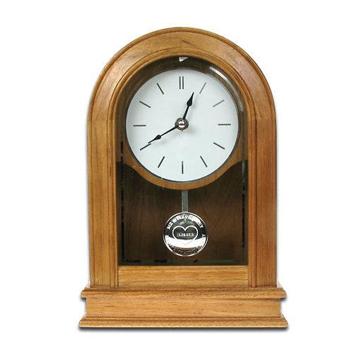25th Wedding Anniversary Oak Clock