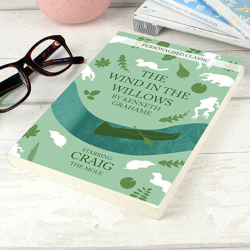 Personalised The Wind in the Willows Novel - 1 Character (PMC)