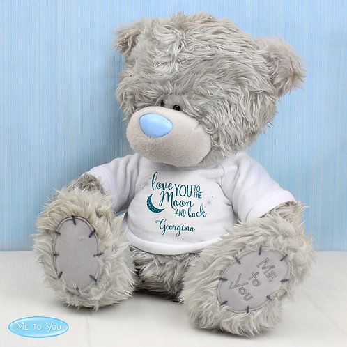 Personalised Me to You Bear 'To the Moon and Back' (PMC)