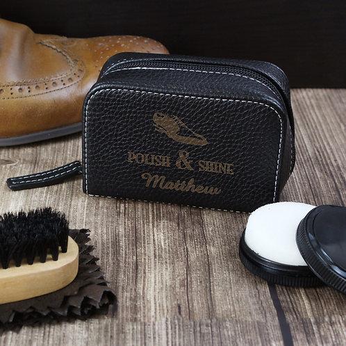 Personalised Polish & Shine Shoeshine Kit (PMC)