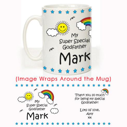 My Super Special Godfather Mug: Christening Gift