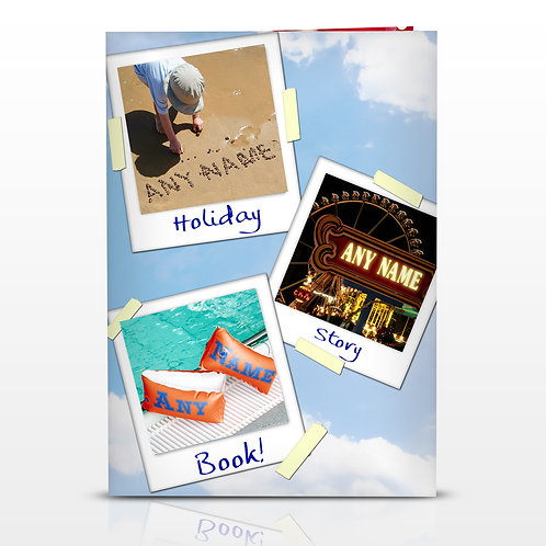 Personalised On Holiday Story Book (PMC)