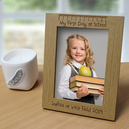 First Day at School 5?x7? Photo Frame