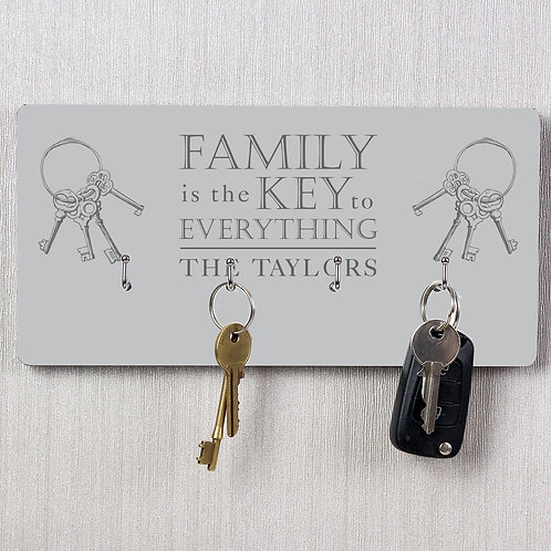 Personalised Family Key Hooks (PMC)