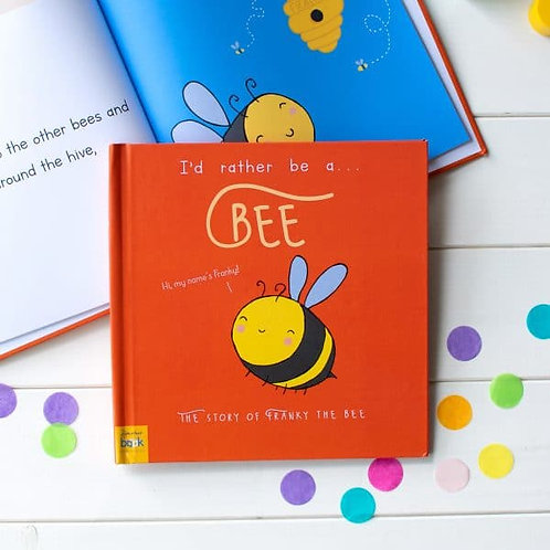 I?d Rather Be A Bee ? Personalised Storybook