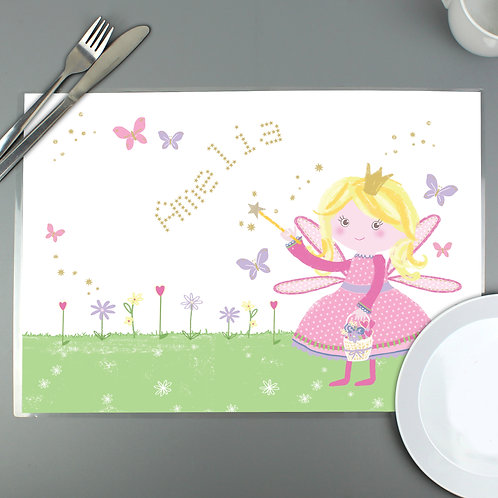 Personalised Garden Fairy Placemat (PMC)