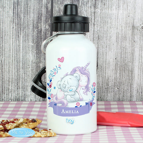 Personalised Tiny Tatty Teddy Unicorn Drinks Bottle (PMC)