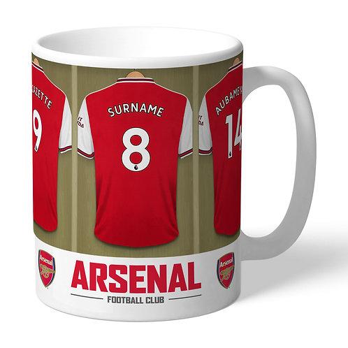 Arsenal Football Club Dressing Room Mug (PMC)