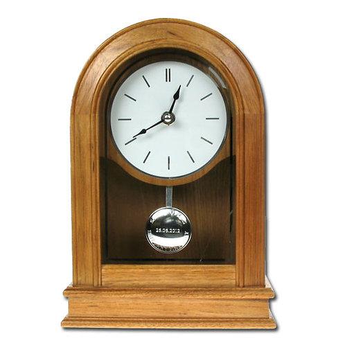 Personalised Any Birthday Oak Clock