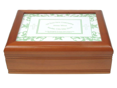 First Holy Communion Jewellery Box