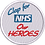 Thumbnail: Keyworker Male Polo (CLAP FOR NHS OUR HEROES BADGE STYLE))