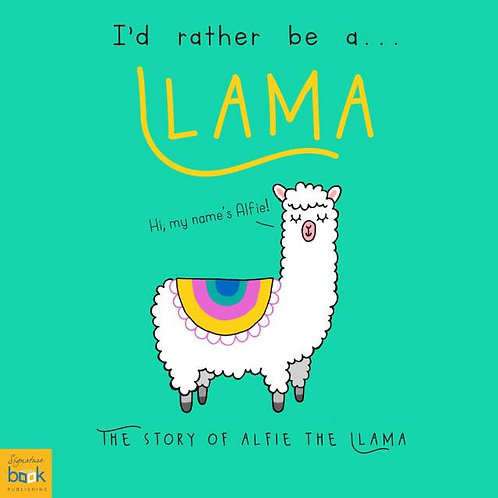 I?d Rather Be A Llama ? Personalised Storybook