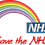 Thumbnail: Keyworker female Polo (RAINBOW NHS WITH SAVE THE NHS UNDERNEATH)
