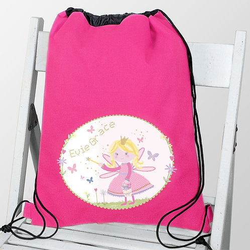 Personalised Garden Fairy Swim & School Bag (PMC)