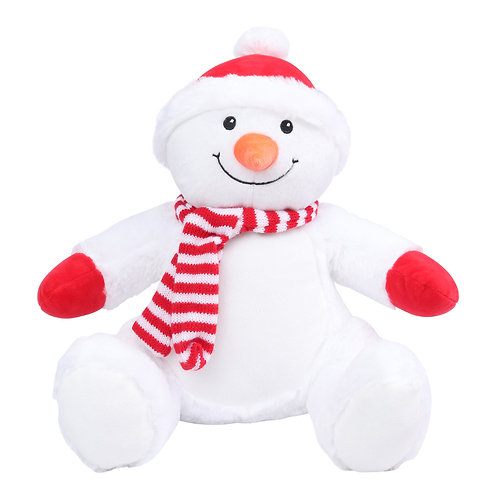 Personalised Mumbles Zippy Snowman