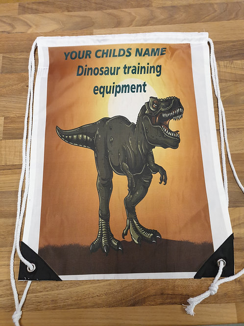 Dinosaur Gym bag