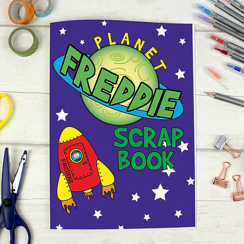 Personalised Space - A4 Scrapbook (PMC)