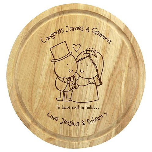 Chilli & Bubbles Have/Hol Chopping Board