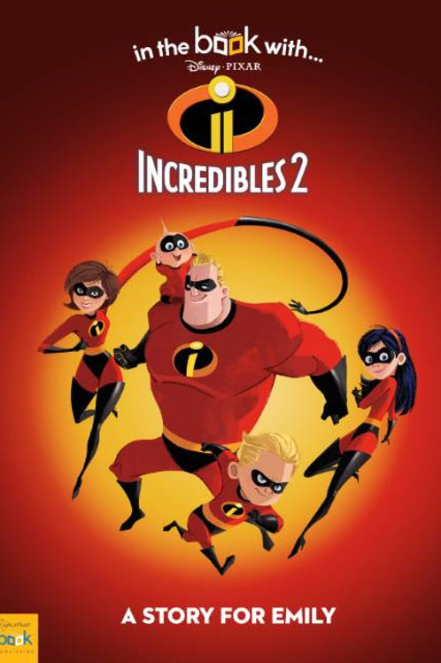 Incredibles 2 story book