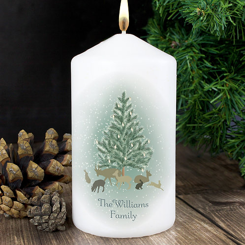 Personalised A Winter's Night Candle (PMC) (PMC)