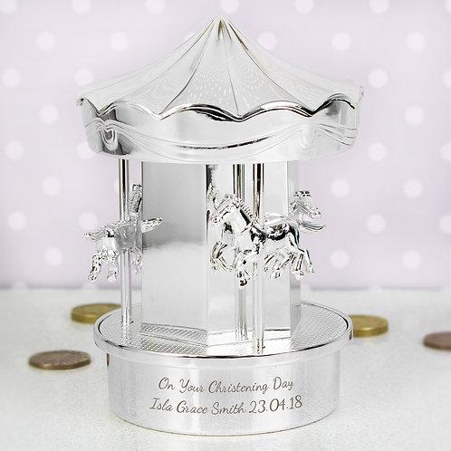 Personalised Carousel Money Box (PMC)