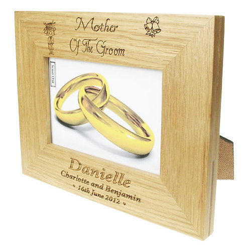 Mother of the Groom Oak Photo Frame
