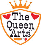 Queen of Arts logo WITH CREST.jpg