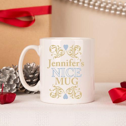Naughty & Nice Christmas Mug