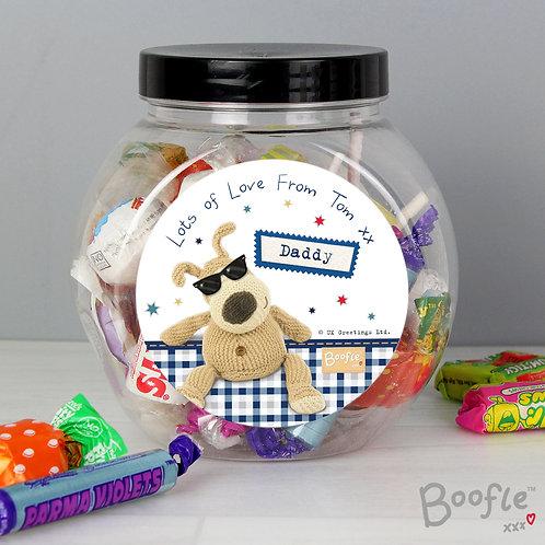 Personalised Boofle Stars Sweet Jar (PMC)
